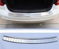 Modification of Stainless Steel Exterior Decorative Rear Guard Board for Volkswagen 16 18 New Bora Reserve Box