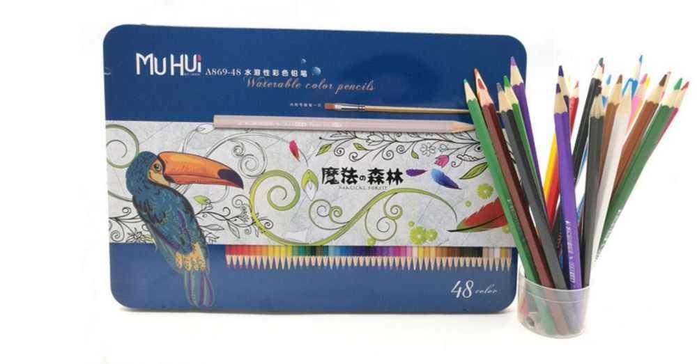 48 lápices de color groso profesional de Color no tóxico conjunto de lápices de dibujo de colores suministros de arte para oficina y dibujo lápiz