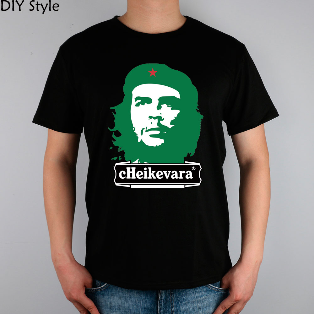 CHE Beer Guevara T-shirt cotton Lycra top 5783 Fashion Brand t shirt men new high quality