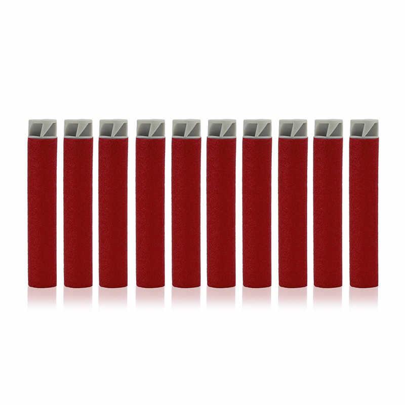 100 шт. Торнадо головы 7,2 см мягкие пули для игрушечный пистолет Nerf Запасной комплект для Дартс игрушка бластер пневматический пистолет легкий безопасный Запасной комплект для Дартс