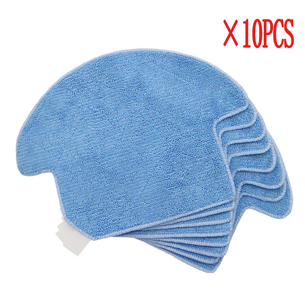 10pcs/lot High quality Robot Vacuum Cleaner MOP Cloths for ILIFE V7S Replacement Mop Cleaning Robot Vacuum Cleaner 5 pcs lot chuwi ilife robot vacuum cleaner mop cloths for ilife v7s replacement mop cleaning robot vacuum cleaner mop