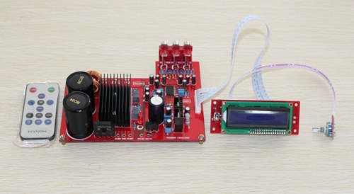 цена на TDA8950 LCD remote digital amplifier board/High-efficiency Class D audio amplifier board,Using original TDA8950 and LC75342