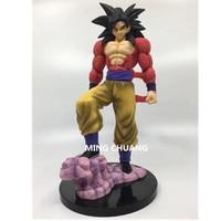 Dragon Ball Super saiyan Son Goku Son Gohan Gotenks Bulma Tianxia DBZ Broli PVC Action Figure Collectible Model Toy 28CM D141