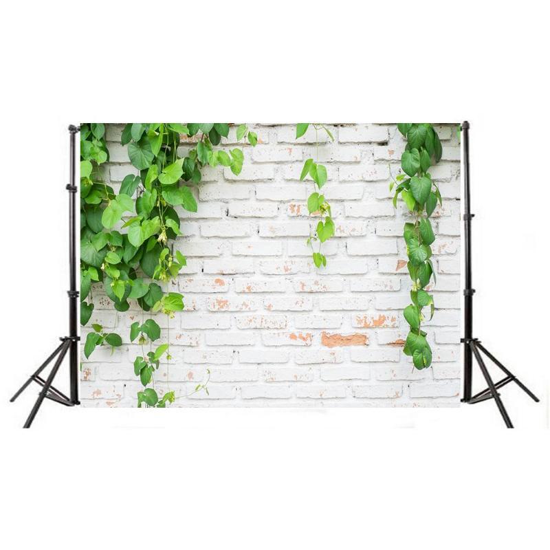 Image 3 - Green Plant Brick Texture Photography Background Cloth Backdrop Photo Decor For Photo Studio-in Background from Consumer Electronics