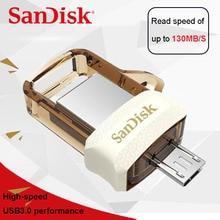 Sandisk extreme USB 3.0 двойной OTG USB флеш-накопитель для смартфонов/планшетов/pc флешки 32 ГБ высокая скорость Флеш накопитель usb stick SDDD3