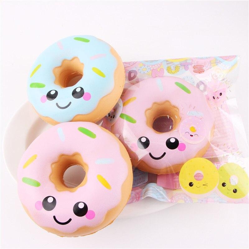 Squishy Doughnut Lento Levantamiento de Estrés Juguetes Para Niños - Nuevos juguetes y juegos - foto 1