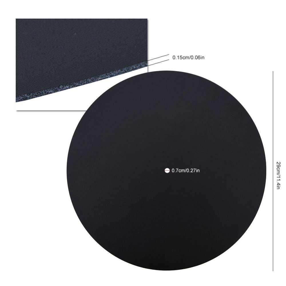1,5 мм антистатический Виниловый проигрыватель записывающая подставка Антистатическая плоская Мягкая натуральная автомобильный подлокотник, матовая кожа коврик