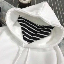 BTS (Bangtan Boys) Oversized Striped Hoodies
