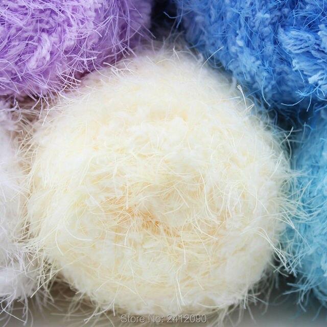 Cachemira visón hilo para tejer hilo de lana cinta que hace punto ...