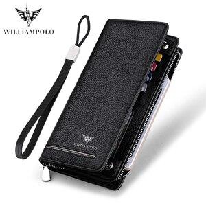 WILLIAMPOLO Genuine Leather Lu