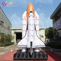 אישית 5 מטרים גובה ענק רוקט מתנפח/מתנפח רקטות משגר/רוקט מתנפח צעצוע
