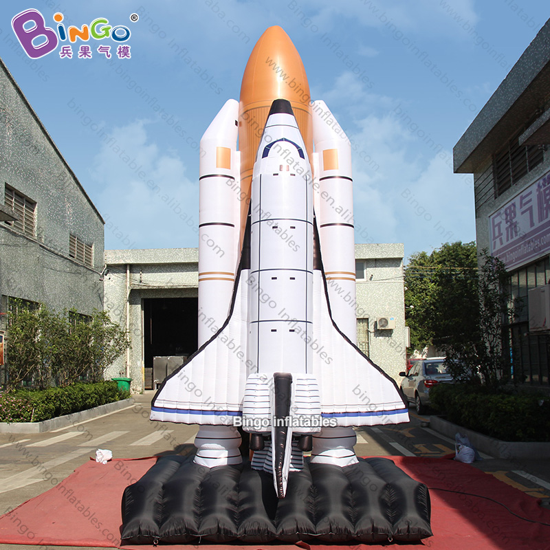 Fusée gonflable géante personnalisée de 5 mètres de hauteur/lance-roquettes gonflable/jouet de fusée gonflable