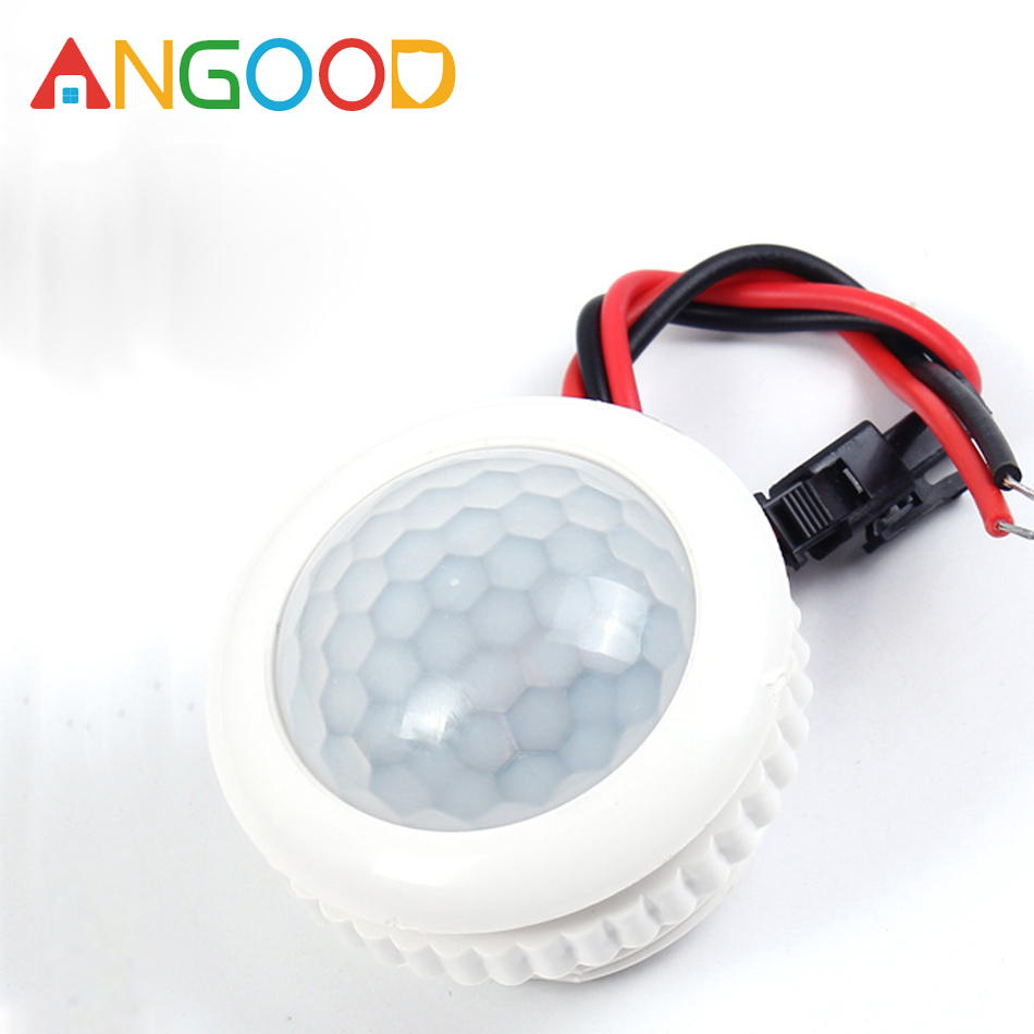 ANGOOD 220V 50HZ PIR Smart Sensor Detector IR Infrared LED Lamp Switch Light Control Ceiling Module Motion Sensor 3-6m Detection(China)