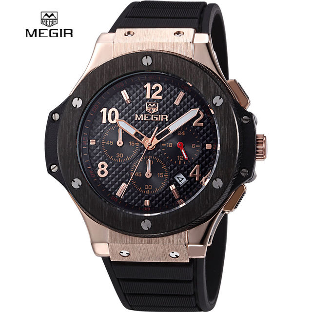 MEGIR Top Luxury Brand Men's Wrist Watch