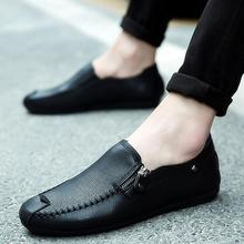 2019 casual men designer shoes solid Light Comfortable Flat
