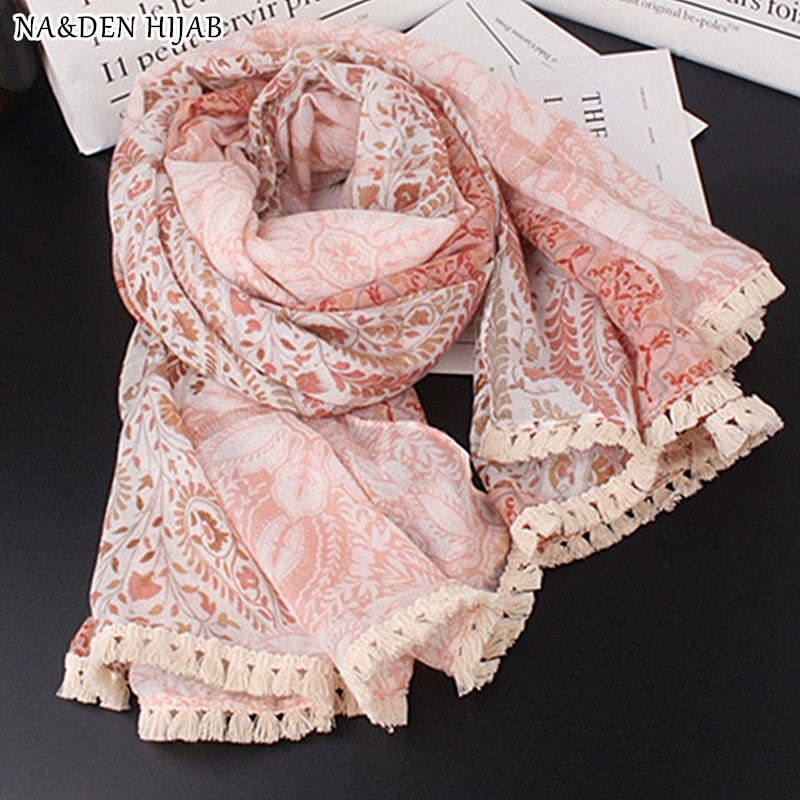 Brand New Pink with White Embroidery Soft Scarf Hijab 100/% Cotton