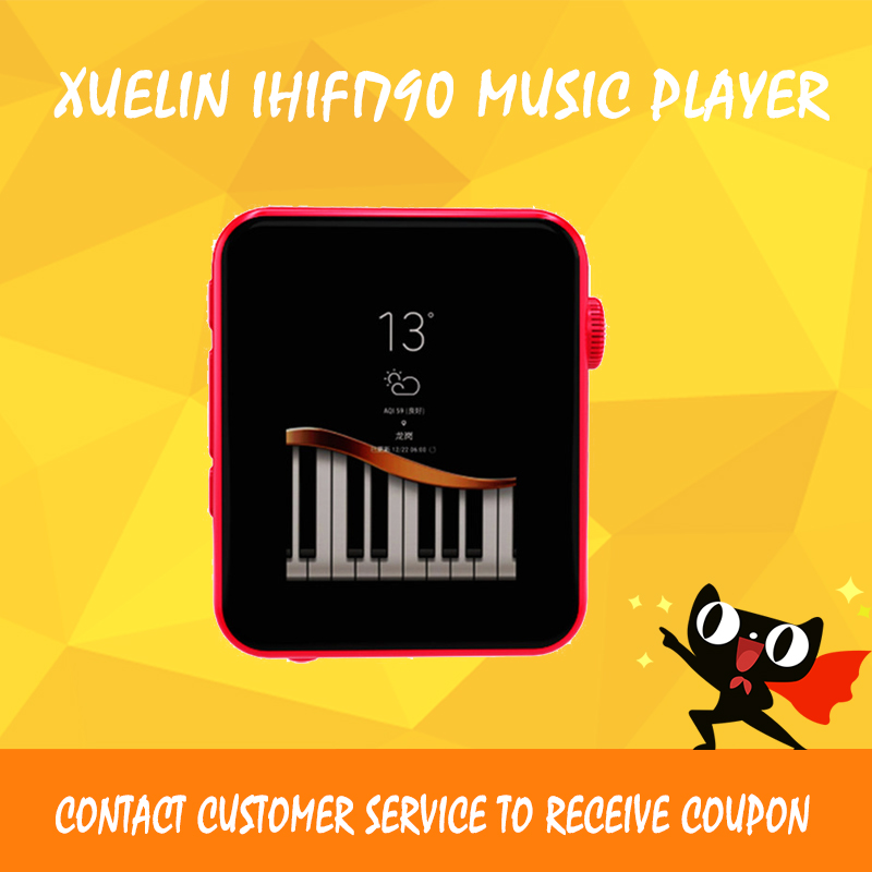 XUELIN IHIFI790 mp3 player AK4490 SEQ DSD Music Player Portable flac Lossless Mini player ежедневник недатированный index idn115 a5 bu a5 картон