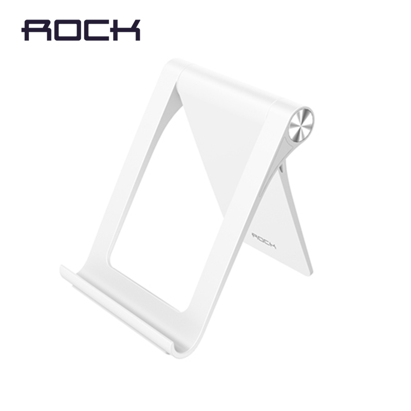 ROCK Phone Holder for iPhone 8 X, Foldable Mobile Phone Holder Tablet Stand Desk Holder Stand for Samsung S9 S8 S7 holder stand