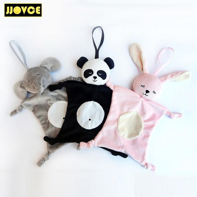 Jjovce Plush Baby Security Blanket Baby Shower Gift Stuffed Animal