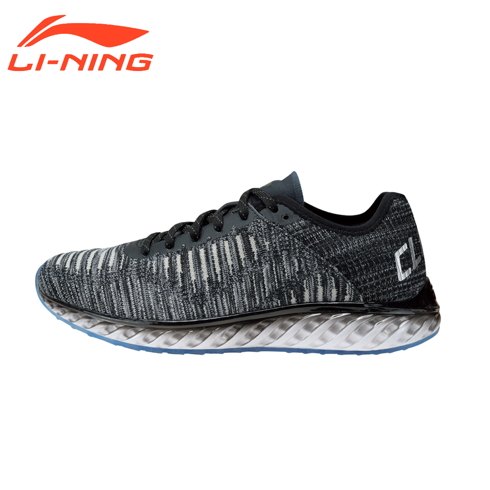 Li-Ning Men's Cushion Running Shoes Light Weight Sports Sneakers LiNing Original Cloud Technology Shoes ARHM025 plus size stylish round neck short sleeve laciness loose t shirt for women