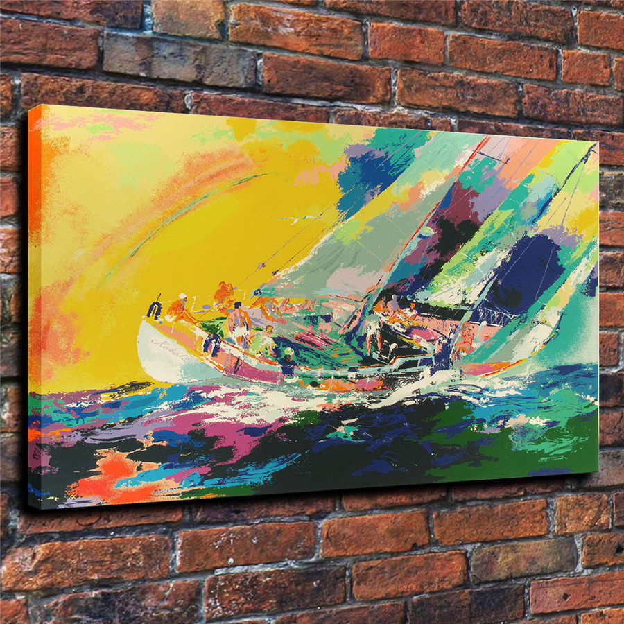 LeRoy Neiman Music and Sports Event Color Print Canvas Painting Living Room Bedroom Home Decor Modern Mural Art Oil Painting#053