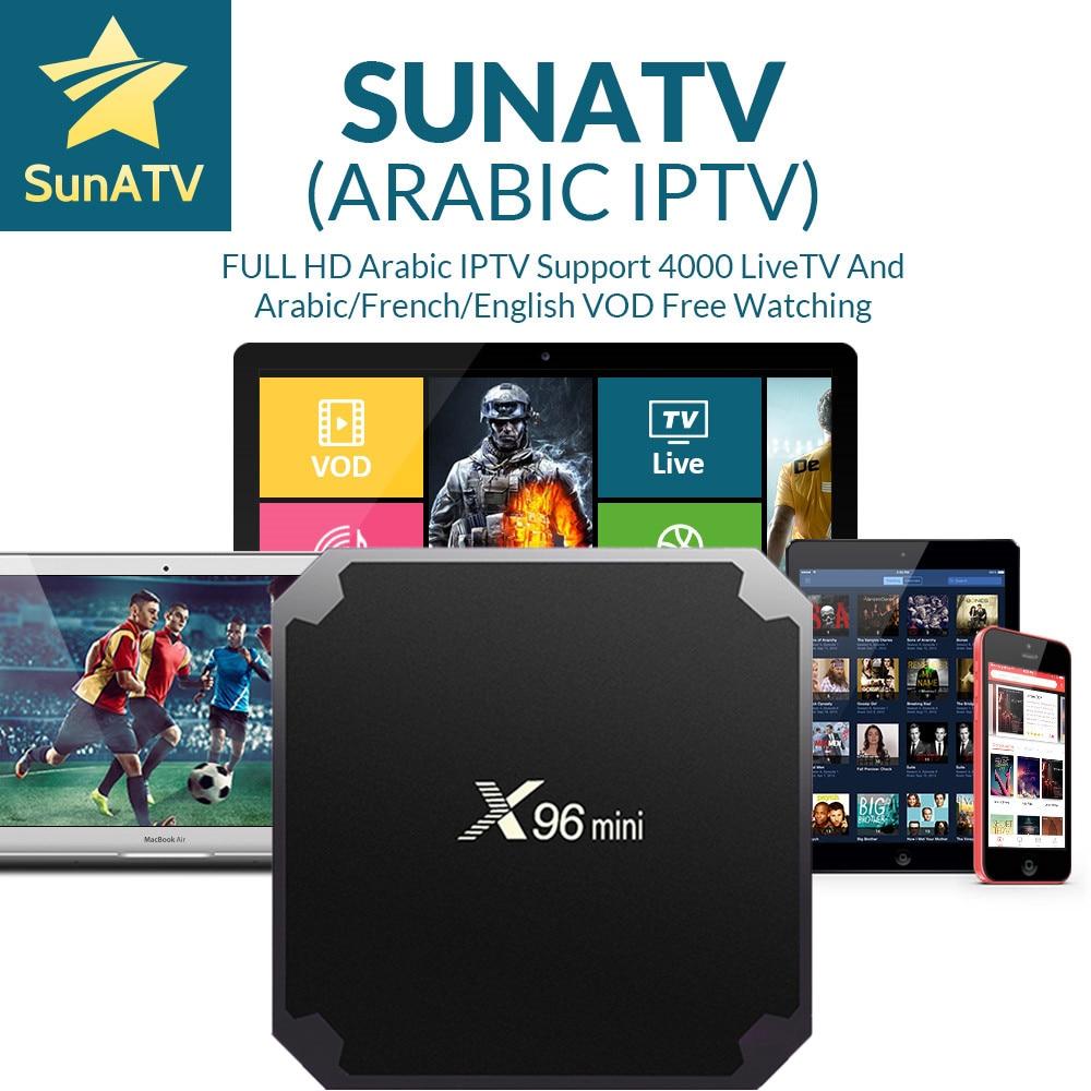 SUNATV реселлером Панель арабский IPTV французский IPTV Поддержка Android m3u enigma2 mag250 7000 live + VOD арабский/UK/ французский android x96mini