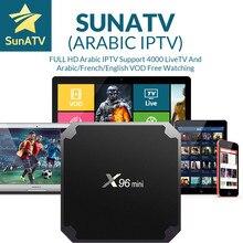 SUNATV Revendeur Panneau Arabe IPTV Français IPTV Soutien Android m3u enigma2 mag250 7000 en direct + VOD Arabe/ROYAUME-UNI/français android x96mini
