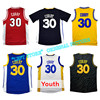 Adult Youth Baby Curry Jersey Cheap Stephen Curry Throwback Basketball Jerseys Embroidery Logos Curry Kid Adults