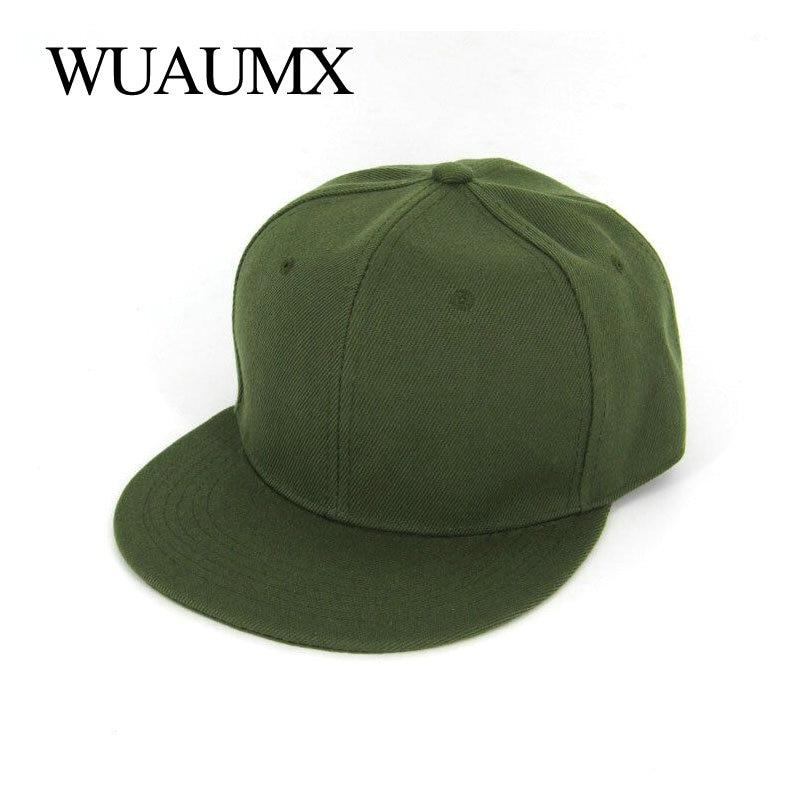 Wuaumx Summer Baseball Cap For Men Flat Brim 5 Planas Hiphop Hat Women  Fitted Size Bone Snapback Cap Casquette Chapeau Masculino f811f8ebf42