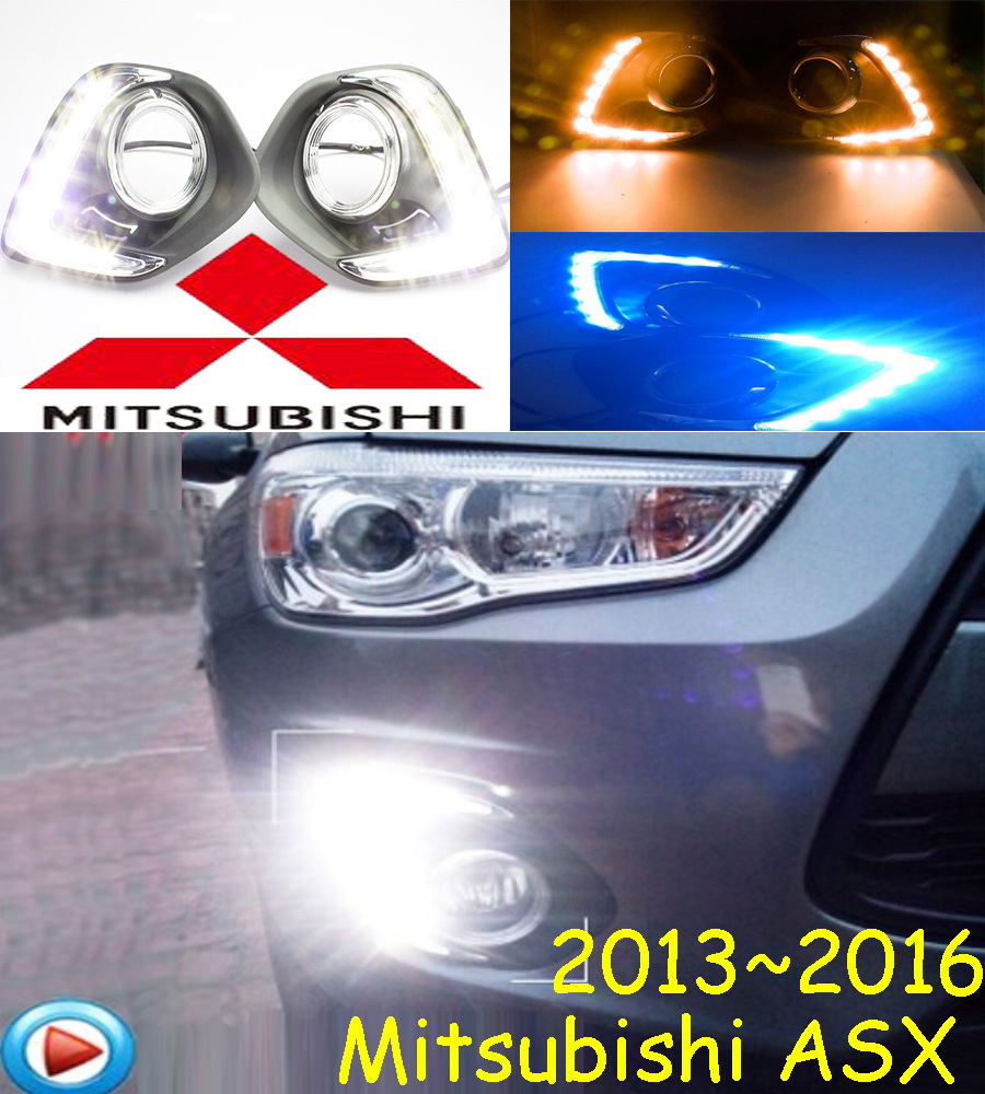 car accessories, Mitsubish ASX daytime light;2013~2016, Free ship!LED,ASX fog light,motorcycle,Outlander,ASX