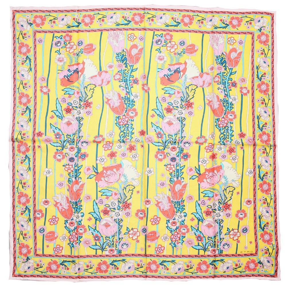 ELEGANT HANDMADE BRAND 100%Twill Silk Scarf TWIC-69415
