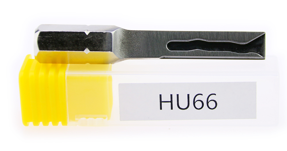 Free Shipping2016 Hot Sale! HU66 Strong Power Stainless Steel Key For Car Professional Locksmith Tools axioms elements