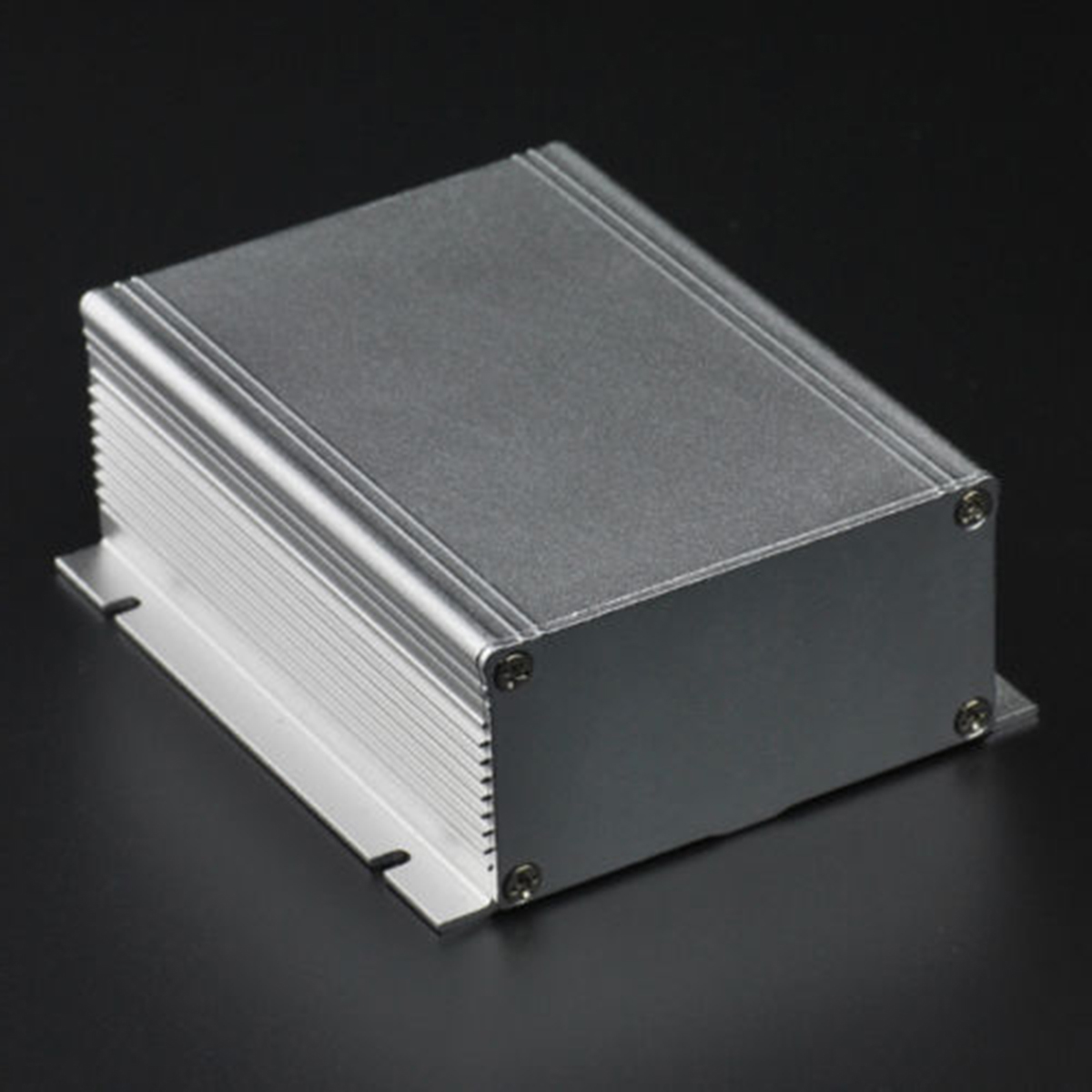 1pc Aluminum Extruded Enclosure Box DIY PCB Electronic Project Instrument Case 88*39*100mm extruded aluminum enclosure case electronic project diy pcb instrument box for holding circuit board 100x100x50mm