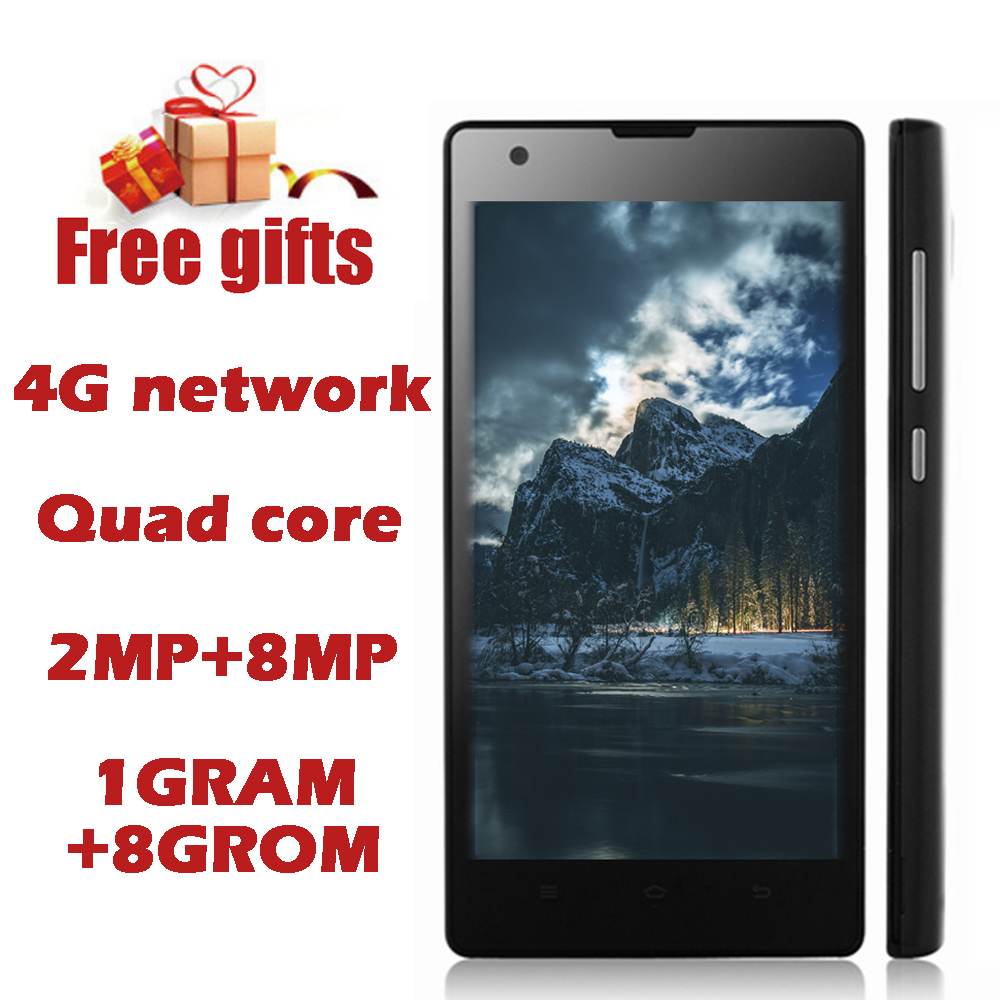 4g Lte Quad Core Smartphones 1g Ram 8g Rom 8.0mp Camera Android Os Phones Hd 4.7inch 1280*720 Cell Mobile Celuar Unlocked Phone