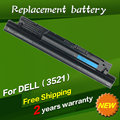 Jigu para dell pvj7j t1g4m v8vnt para inspiron 14r (5421) 14 V 15 3521 17 5000 Series Laptop Battery (5748) 6XH00 8RT13 DJ9W6