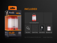 2018 New Fenix CL23 300 lumens multi directional lightweight camping lantern powered by AA batteries
