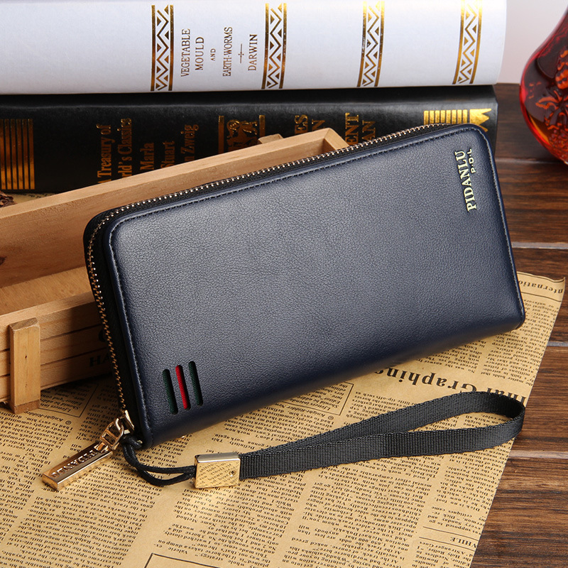 Online Shop Top sale PU Leather Wallet Zipper Coin Purse frame Card ...