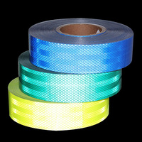 1pcs 5CM x 6M DIY Style Fluorescent Reflective Warning Sticker Car Motorcycle Bicycle Decoration Reflective Sticker