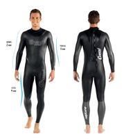 Маленькое ручное производство Нептун freedive Мокрые одежды спорта людей Одежда заплыва костюм 2 3 4 мм с multithickness технологии