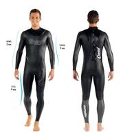 Cressi NEPTUNE Freedive гидрокостюм для плавания костюм 2 3 4 мм с технологией multiтолщина