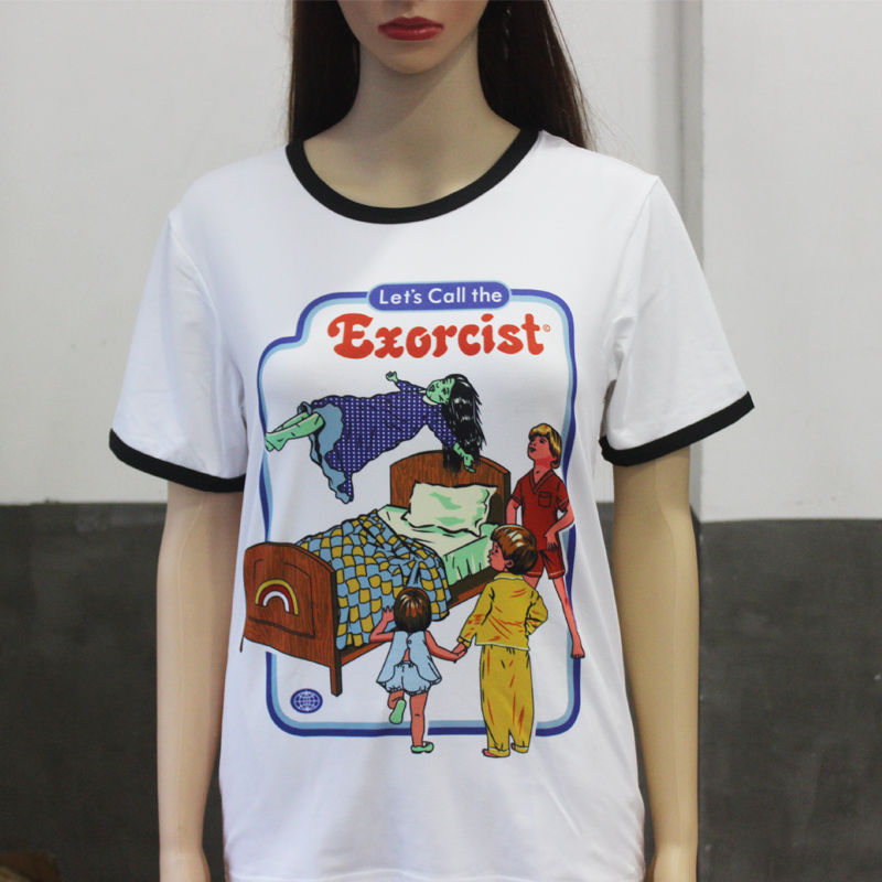 Hillbilly Tshirt Women Let S Call The Exorcist Funny Kawaii Cool T Shirts For Female Brand Clothing Top Quality Harajuku T Shirt T Shirts Aliexpress