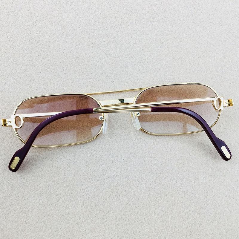 cf248e62da Metal Wire Glasses Vintage Sunglasses Men Luxury Mens Sunglasses ...