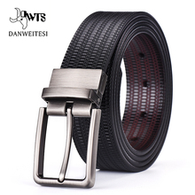 [DWTS] Men Belt New High Quality Cow Genuine Leather Luxury