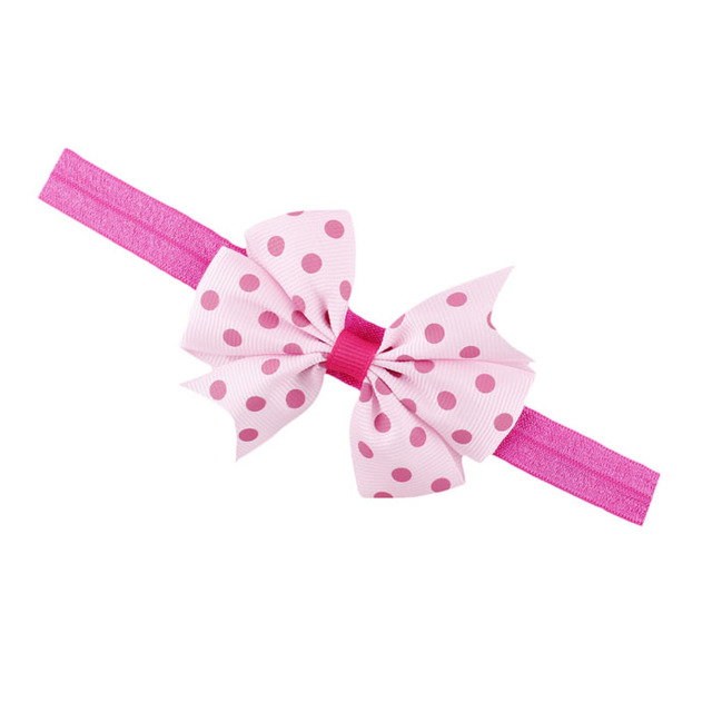 Lovely Baby Girl's Dotted Hairbands
