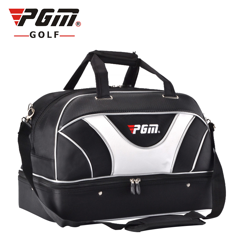 Pgm Waterproof Golf Clothing Bag Women Men Golf Shoes Handbag Wearable Double Layer Golf Bags Sports Handbags D0056