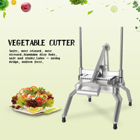 Manual Cutter Commercial Slicer Potato Fries Cutting Machine Cabble Maker Vegetable Fruit Chopper Kitchen Tool