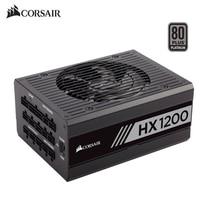 Corsair HX1200 100 240V 1200W Full Modular Computer Power Supply For Desktop And Server 80 Platinum