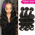 Brazilian Body Wave 3 Bundles Unprocessed Brazilian Virgin Hair Body Wave Rosa Hair Products  Human Hair Mink Brazilian Hair