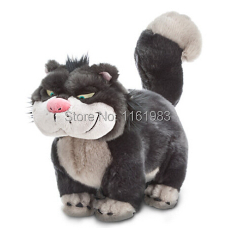Cinderella Lucifer Cat Plush Toy 46cm Bad Cat Lucifer Plush Toys roomble табурет cinderella