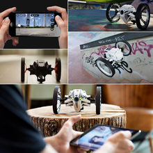 1 Pcs Bounce RC Stunt Car Wireless Remote Control 360 Degrees Rotation Children YJS Dropship недорого